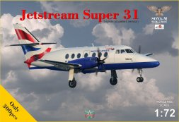 Jetstream Super 31 (5 blade propellers vers) 1:72