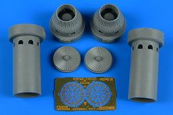 F-14A Tomcat exhaust nozzles - closed position 1:72