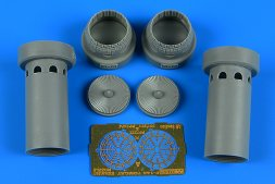F-14A Tomcat exhaust nozzles - opened position 1:72