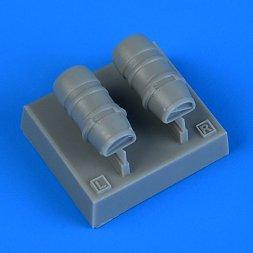 Macchi Mc.202 Veltro oil radiators 1:72
