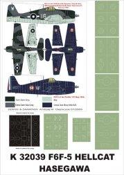 F6F-3/5 Hellcat super mask for Hasegawa 1:32
