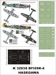 Bf 109K-4 super mask for Hasegawa 1:32