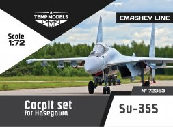 Su-35S Cockit set for Hasegawa 1:72