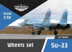 Su-33 wheels set 1:72