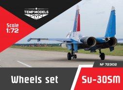 Su-30SM wheels set 1:72