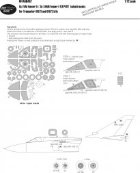 Su-24M/MR Expert mask for Trumpeter 1:72