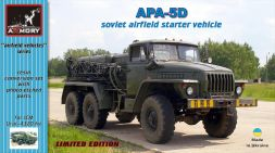 APA-5D airfield starter truck conversion set for ICM 1:72