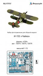 I-153 detail set for ICM 1:72