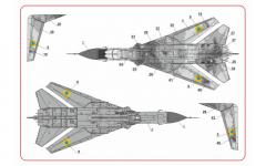 Su-24M Fencer - Ukrainian pixel 1:144