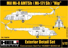 Mil Mi-171 Sh (AMTSh) Conversion set 1:72