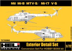 Mil Mi-8 MTV-5/Mi-17V-5 Conversion set 1:72