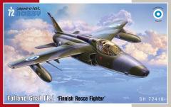 Folland Gnat FR.1 Finnish Recce Fighter 1:72