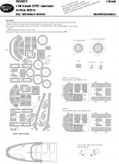 A-26B-15 Invader EXPERT mask for ICM 1:48
