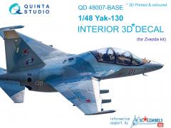 Yak-130 Interior for Zvezda 1:48