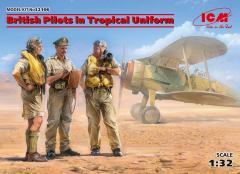 British Pilots in Tropical Uniform (1939-1943) 1:32