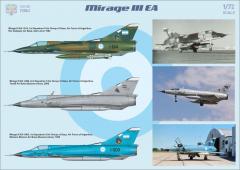 Mirage IIIEA/EBR fighter-bomber 1:72