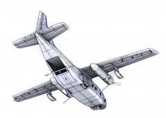 C-123K/UC-123B/K Provider - Operation Ranch Hand 1:72