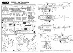Mil Mi-171P Conversion set 1:72