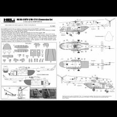 Mil Mi-8 MTV-5/Mi-17V-5 Conversion set (close Ramp) 1:72