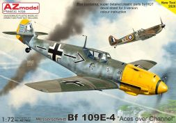 Bf 109E-4 - Aces over Channel 1:72