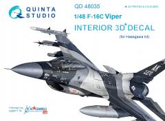 F-16С interior for Hasegawa 1:48