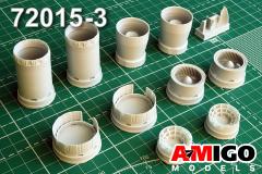 MiG-25P/PD/PU exhasut nozzle for ICM (New) 1:72