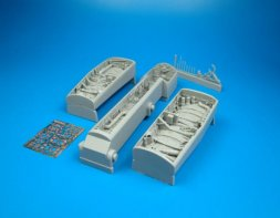 Aires F/A-18C/D Hornet wheel bays for Academy 1:32