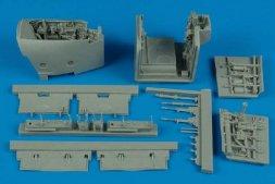 Aires AV-8B Harrier II wheel bays for Trumpeter 1:32