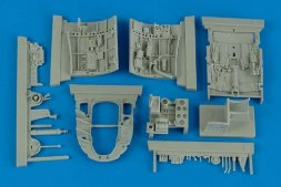 Aires A6M5 Zero Fighter cockpit set for Tamiya 1:32