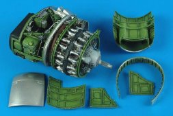 P-47D Thunderbolt engine set 1:32