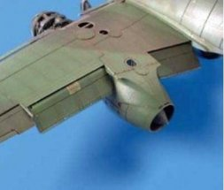 Me 262A Schwalbe flaps for Tamiya 1:48