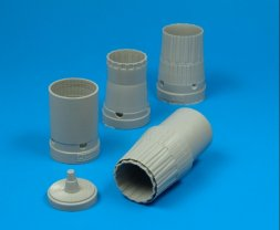 Su-27 Flanker B exhaust nozzles for Academy 1:48