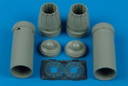 F/A-18C Hornet exhaust nozzles - closed position 1:48