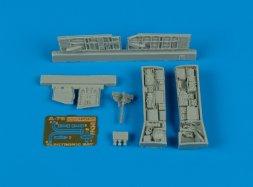 A-7E Corsair II electronic bays 1:48
