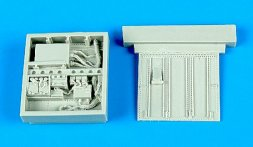 A-10A Thunderbolt II electronic bays for Italeri 1:48