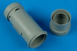 J35 Draken exhaust nozzle for Hasegawa 1:48