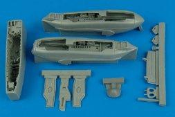 A-10A Thunderbolt II wheel bays for Hobby Boss 1:48