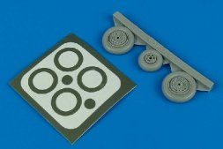 MiG-17 Fresco wheels & paint masks 1:48