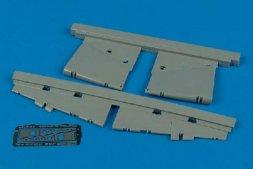 J35 Draken control surfaces for Hasegawa 1:48