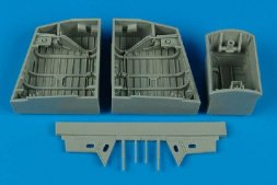 English Electric Canberra wheel bays 1:48