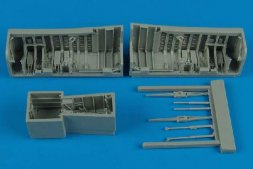 Panavia Tornado wheel bays for Hobby Boss 1:48