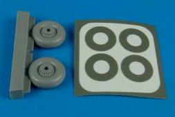 Macchi MC.200 Saetta wheels & paint masks 1:48