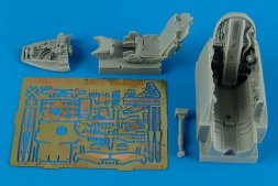 MiG-21MF cockpit set for Eduard 1:48