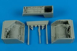 MiG-23 Flogger wheel bay for Trumpeter 1:48