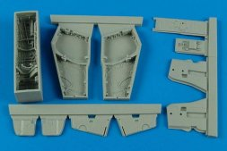 F-4B/N Phantom II wheel bays for Academy 1:48