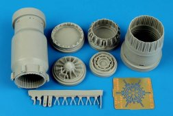 MiG-23 Flogger exhaust nozzle - opened 1:48