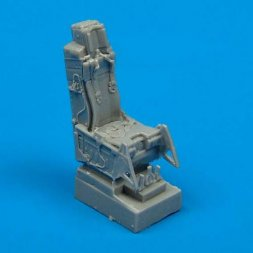 F-16A/C ejection seat with safety belts 1:72