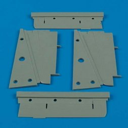 A-1 Skyraider horizontal stabilizers for Hase. 1:72