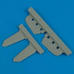 Bf 109G/K stabilizer for Fine Molds 1:72