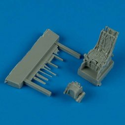 Su-27 ejection seat with sefety belts 1:72